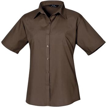 Vêtements Femme Chemises / Chemisiers Premier PR302 Marron