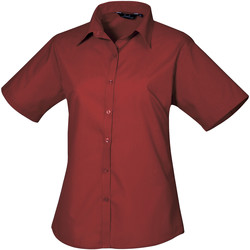 Vêtements Femme Chemises / Chemisiers Premier Poplin Bordeaux