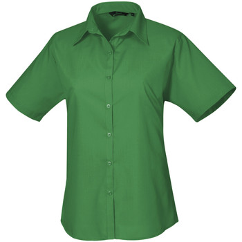 Vêtements Femme Chemises / Chemisiers Premier Poplin Vert émeraude