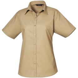 Vêtements Femme Chemises / Chemisiers Premier Poplin Kaki