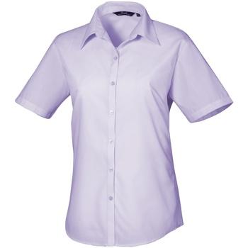 Vêtements Femme Chemises / Chemisiers Premier Poplin Lilas