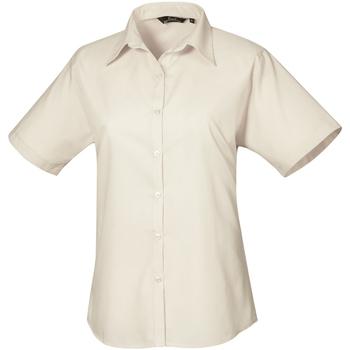 Vêtements Femme Chemises / Chemisiers Premier PR302 Naturel