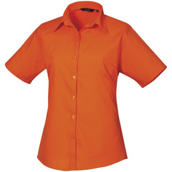 Vêtements Femme Chemises / Chemisiers Premier Poplin Orange