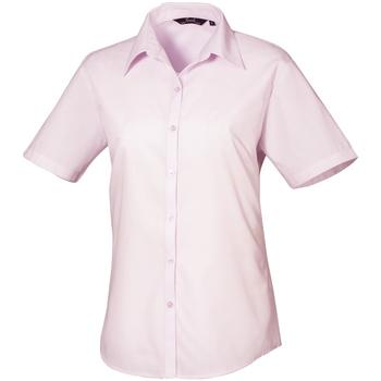 Vêtements Femme Chemises / Chemisiers Premier PR302 Rose pâle