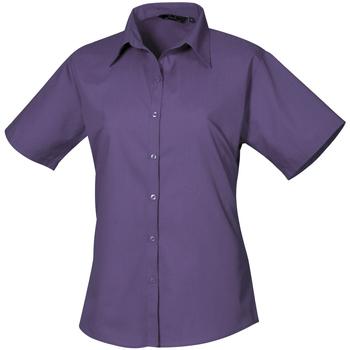Vêtements Femme Chemises / Chemisiers Premier Poplin Violet foncé