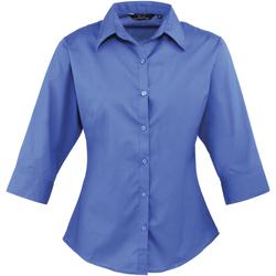 Vêtements Femme Chemises / Chemisiers Premier Poplin Bleu roi