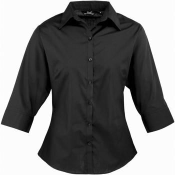Vêtements Femme Chemises / Chemisiers Premier Poplin Noir