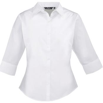Vêtements Femme Chemises / Chemisiers Premier Poplin Blanc