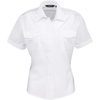 Vêtements Femme Chemises / Chemisiers Premier PR312 Blanc