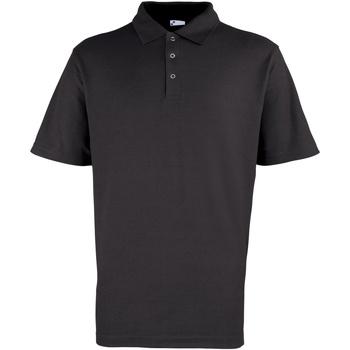 Vêtements Homme Polos manches courtes Premier Stud Noir