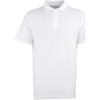Vêtements Homme Polos manches courtes Premier Stud Blanc