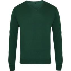 Vêtements Homme Pulls Premier PR694 Vert bouteille
