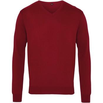 Vêtements Homme Pulls Premier PR694 Bordeaux