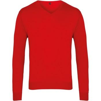 Vêtements Homme Pulls Premier PR694 Rouge
