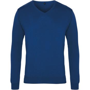 Vêtements Homme Pulls Premier PR694 Bleu roi