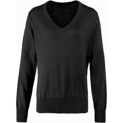 Vêtements Femme Pulls Premier PR696 Noir