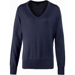 Vêtements Femme Pulls Premier PR696 Bleu marine