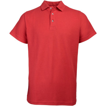 Vêtements Homme Polos manches courtes Rty Workwear Heavyweight Rouge