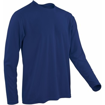 Vêtements Homme T-shirts manches longues Spiro Performance Bleu marine