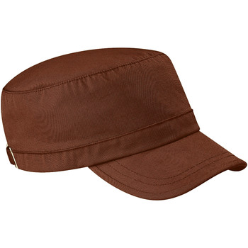 Accessoires textile Homme Casquettes Beechfield Army Chocolat