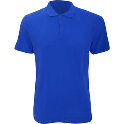 Vêtements Homme Polos manches courtes Anvil Pique Bleu roi
