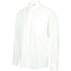 Vêtements Homme Chemises manches longues Henbury HB590 Blanc