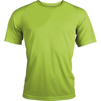 Vêtements Homme T-shirts manches courtes Kariban Proact Proact Vert citron