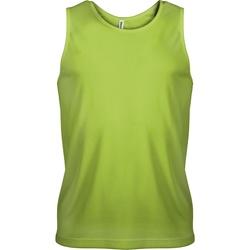 Vêtements Homme Débardeurs / T-shirts sans manche Kariban Proact Proact Vert citron