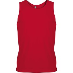 Vêtements Homme Débardeurs / T-shirts sans manche Kariban Proact Proact Rouge