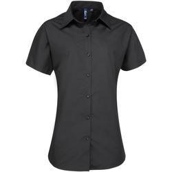 Vêtements Femme Chemises / Chemisiers Premier PR309 Noir