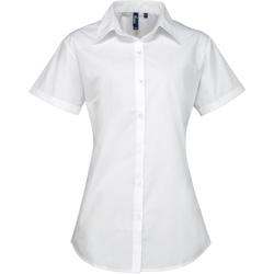 Vêtements Femme Chemises / Chemisiers Premier PR309 Blanc