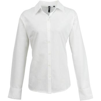 Vêtements Femme Chemises / Chemisiers Premier Oxford Blanc