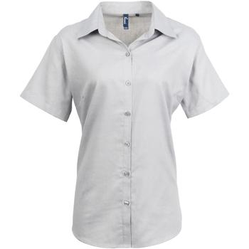 Vêtements Femme Chemises / Chemisiers Premier Oxford Argent