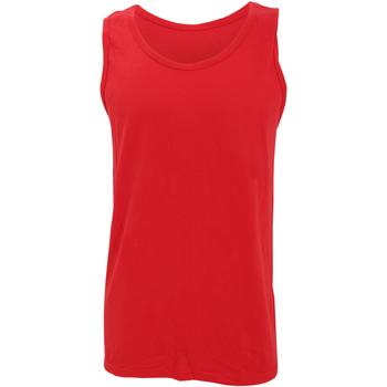 Vêtements Homme Débardeurs / T-shirts sans manche Gildan Softstyle Rouge