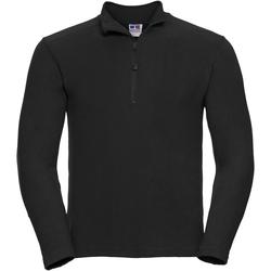 Vêtements Homme Polaires Russell Europe Haut polaire à fermeture zippée 1 quart RW3283 Noir