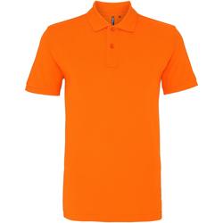 Vêtements Homme Polos manches courtes Asquith & Fox AQ010 Orange