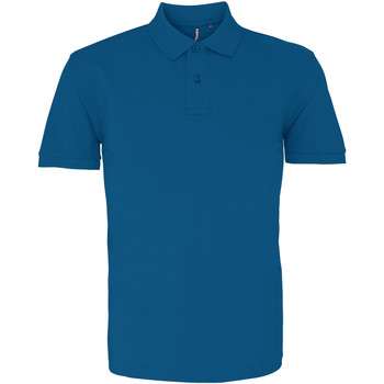 Vêtements Homme Polos manches courtes Asquith & Fox AQ010 bleu foncé
