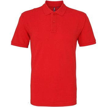 Vêtements Homme Polos manches courtes Asquith & Fox AQ010 Rouge