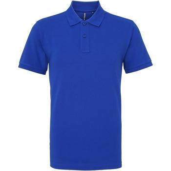 Vêtements Homme Polos manches courtes Asquith & Fox AQ010 Bleu roi