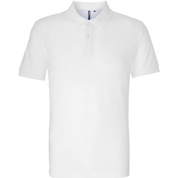 Vêtements Homme Polos manches courtes Asquith & Fox AQ010 Blanc