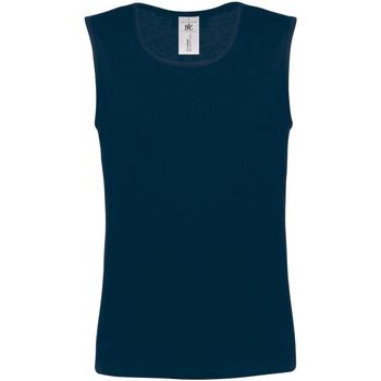Vêtements Homme Débardeurs / T-shirts sans manche B And C Athletic Bleu marine