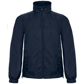 Vêtements Homme Coupes vent B And C ID.601 Bleu marine