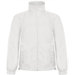 Vêtements Homme Coupes vent B And C ID.601 Blanc