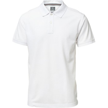 Vêtements Homme Polos manches courtes Nimbus Yale Blanc