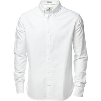 Vêtements Homme Chemises manches longues Nimbus Formal Blanc