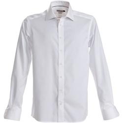 Vêtements Homme Chemises manches longues J Harvest & Frost JF001 Blanc