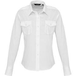 Vêtements Femme Chemises / Chemisiers Premier Pilot Blanc