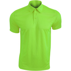 Vêtements Homme Polos manches courtes Kariban Proact Performance Vert citron