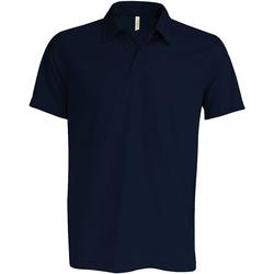 Vêtements Homme Polos manches courtes Kariban Proact Performance Bleu marine