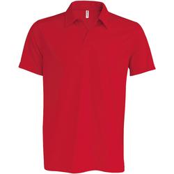 Vêtements Homme Polos manches courtes Kariban Proact Performance Rouge